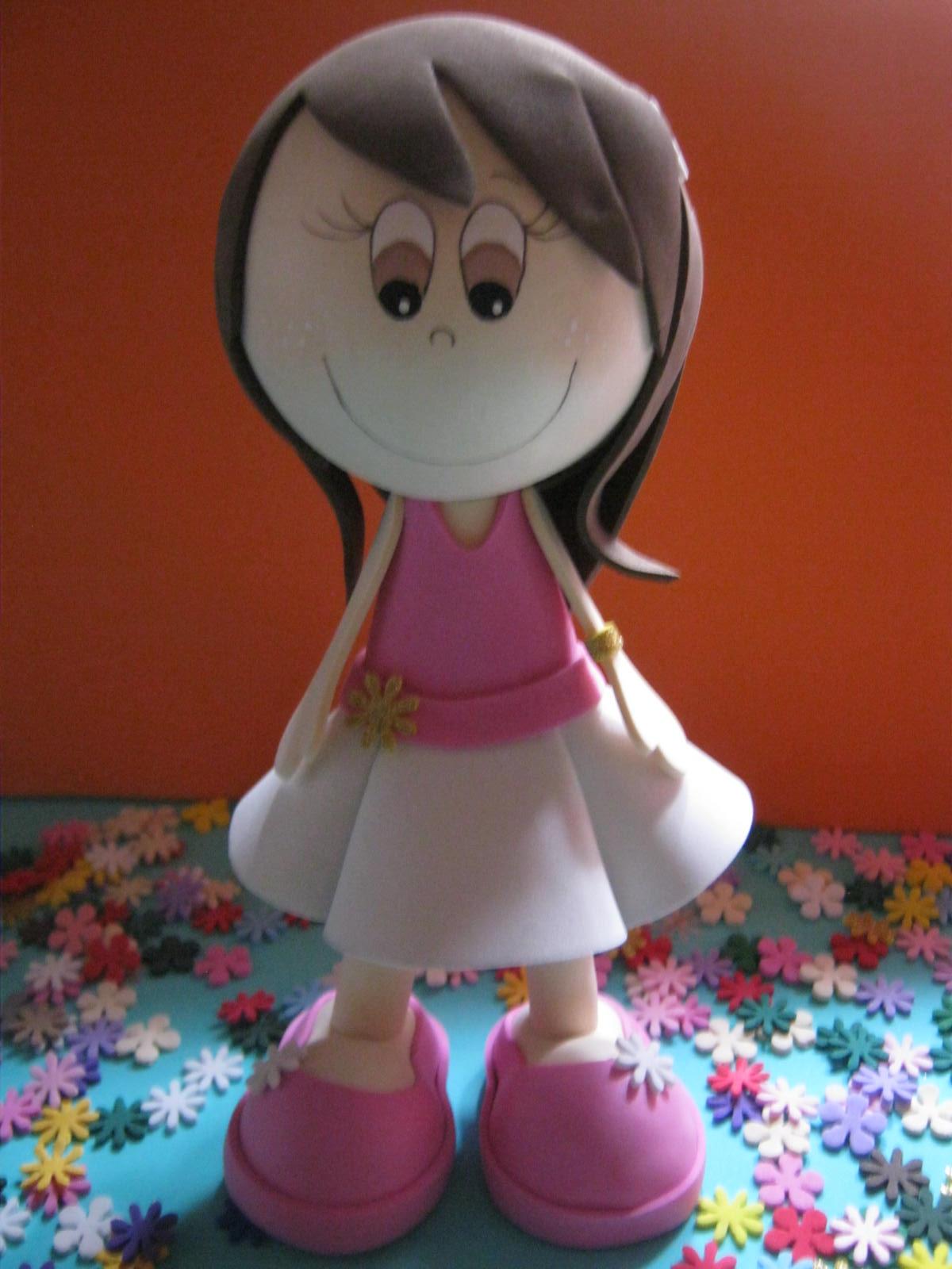 Como hacer muñecas en foami - Imagui
